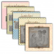"12"" x 12"" Scrapbook Pages (Square A)"